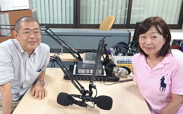 永野圭祐施設長、江崎博美代表