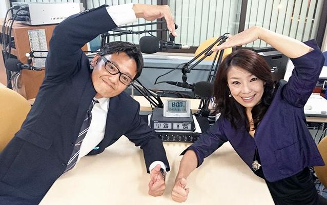 清﨑智大課長(左)、林久美代表(右)