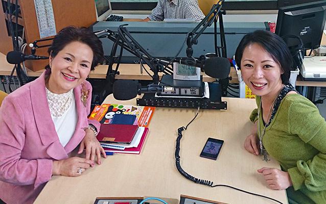 石島澄枝さん(左)、田尻沙織さん(右)