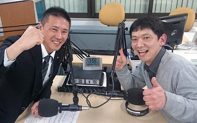 ゲストの松原晃由さん(左)、熊井聡さん(右)