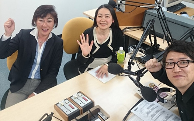 ゲストの古庄博子さん、鍋島智子さん、岩井雅彦さん