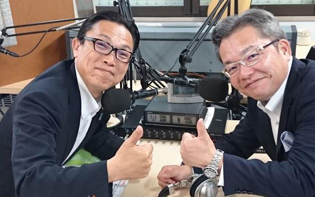ゲストの城戸丈生さん(左)、髙宮龍二さん(右)