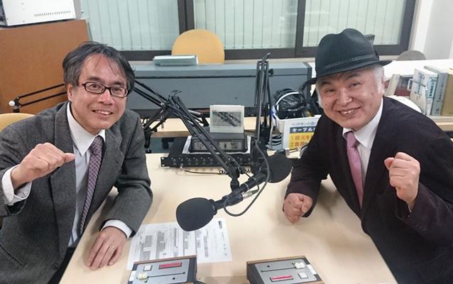 ゲストの江上勇次郎さん(写真左)、山本友晴さん(写真右)