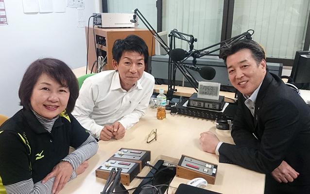ゲストの伊藤智佳子さん(写真左)、岩崎浩さん(写真左奥)立野文生さん(写真右)
