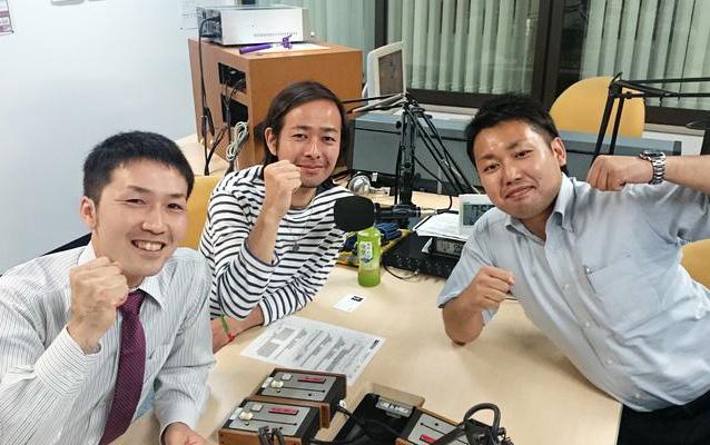 ゲストの吉田真也さん(写真左)、米川昌志さん(写真左奥)、加藤丈晴さん(写真右)
