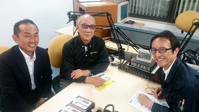 ゲストの小池哲郎さん(写真左)、森弘さん(写真中央)、山岸直之さん(写真右)