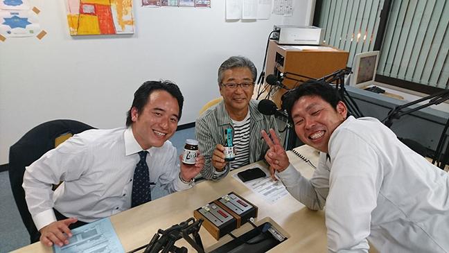 ゲストの池嵜謙五さん(写真左)、宮﨑宗晴さん(写真中央)、岩崎潤さん(写真右)