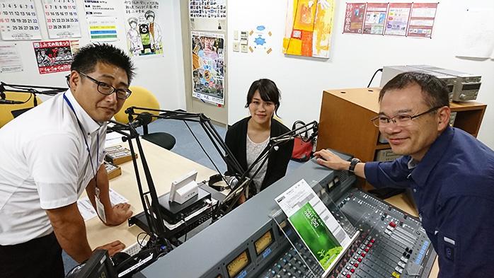 ゲストの木村大輔さん(写真左)、福岡笑子さん(写真中央)、馬場大介さん(写真右)