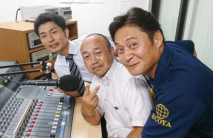 ゲストの松岡雄一さん(写真左)、吉田周生さん(写真中央)、吉田和生さん(写真右)