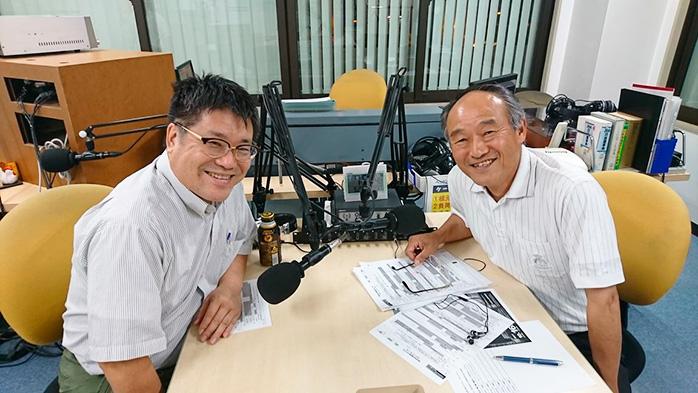 ゲストの宮田喜代志さん(写真左)、江藤隆幸さん(写真右)