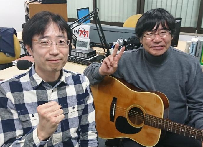 ゲストの今坂豪志さん(写真左)、福島房雄さん(写真右)