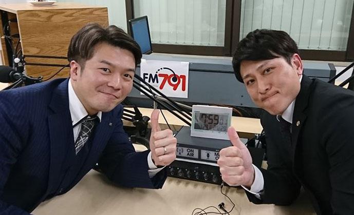 ゲストの森 弘国さん(写真左)、光澤 陽介さん(写真右)