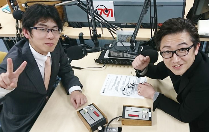 ゲストの鬼塚洋さん(写真左)、岩井雅彦さん(写真右)