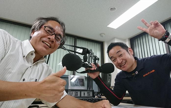 ゲストの江上勇次郎さん(写真左)、竹本雄一さん(写真右)