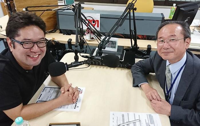 ゲストの渡邉卓也さん(写真左)と江崎智見さん(写真右)