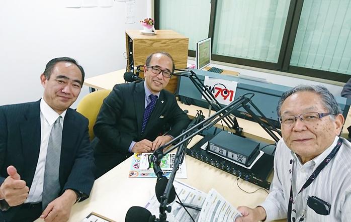 ゲストの福司山 芳弘さん(写真左)と木下智夫(写真真ん中)と木下 智夫さん(写真右)