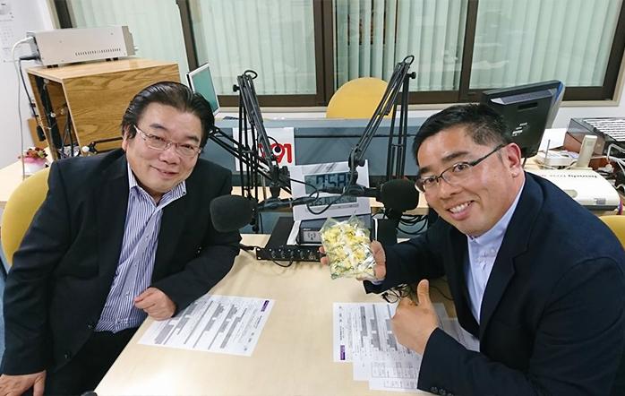 ゲストの中嶋昭仁さん(写真左)と佐分利太介さん(写真右)