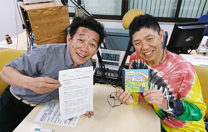 ゲストの大山剛さん(写真左)と安武正樹さん(写真右)