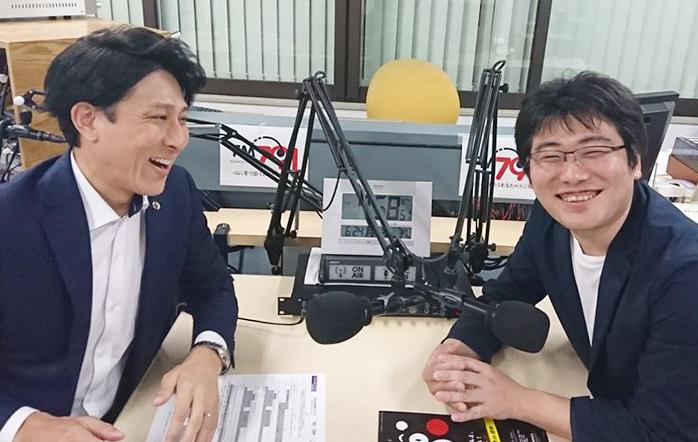 ゲストの光澤 陽介さん(写真左)と穴井 憲一郎さん(写真右)