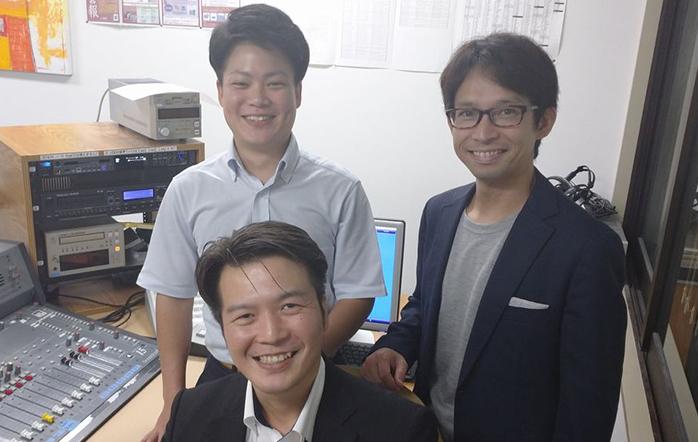 ゲストの(写真上)別當優輝さん、(写真下)森弘国さん、(写真右)田﨑新二さん