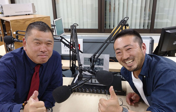ゲストの梅田誠也さん(写真左)、園村竹識さん(写真右)