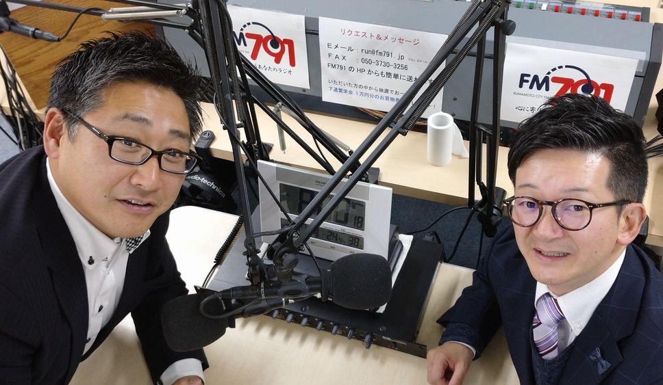 ゲストの木村大輔さん(写真左)、山本龍幸さん(写真右)