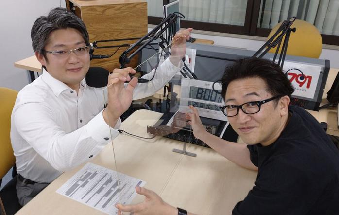 ゲストの吉本千剛さん(写真左)、岩井雅彦さん(写真右)