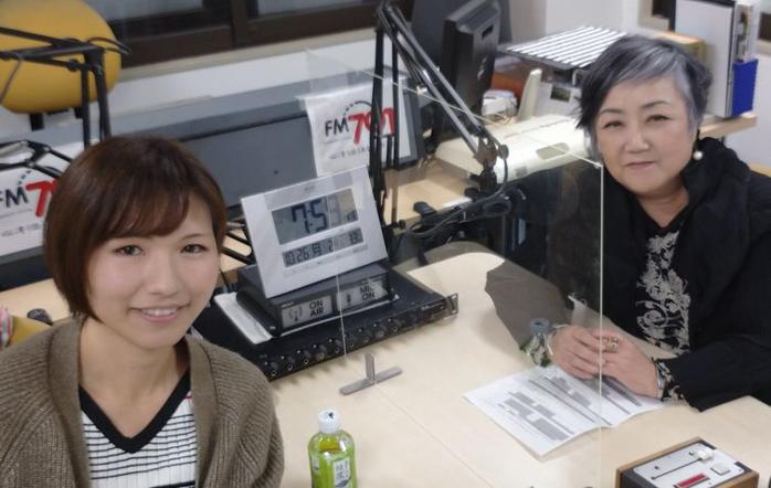 ゲストの玉垣和子さん(写真左)、早咲京子さん(写真右)