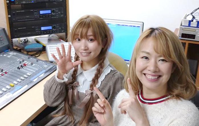 ゲストの宇城ありささん(写真左)、八ッ波綾羽さん(写真右)