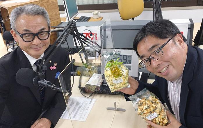 ゲストの(左)西村浩二さん、(右)佐分利太介さん