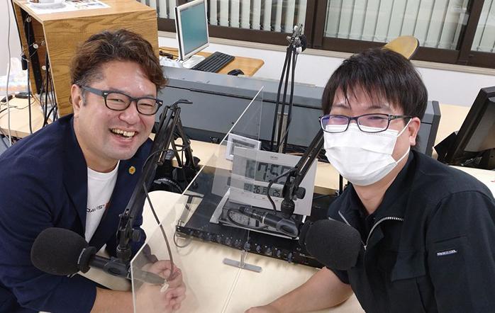ゲストの(左)渡邉卓也さん、(右)吉永啓太さん