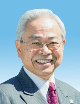 銀杏学園理事長、熊本保健科学大学学長、﨑元 達郎