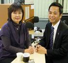 MC:江浦誠代表 ゲスト:伊藤智佳子理事長