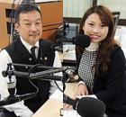 MC:本田恵代代表取締役 ゲスト:鶴田タケシオーナー