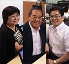 ゲスト : 大嶌法子代表取締役、中根和弘代表取締役会長、小屋松徹彦代表