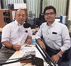 (有)ヨシダ精工の吉田周生代表取締役社長・(株)九州永田の坂部龍也代表取締役