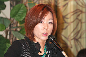 第1分科会 報告者 (株)あおば 代表取締役 宇田川 真由美