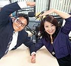 ゲストの清﨑智大課長(左)、林久美代表(右)